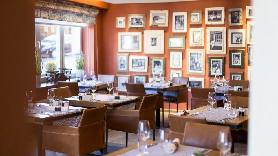 décoration intérieure - restaurant la table de Frank restaurant steinfort
