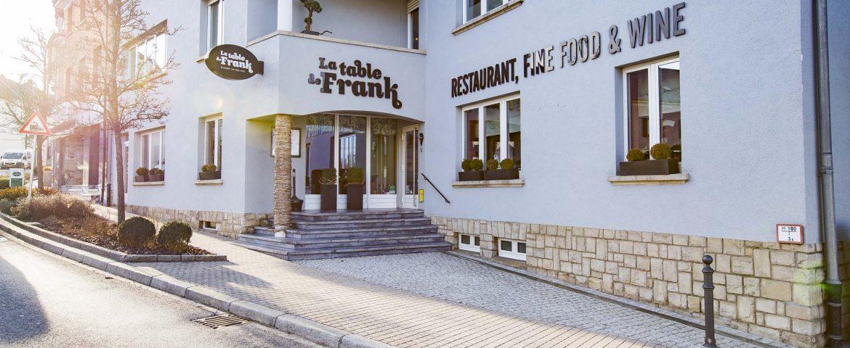 restaurant la table de Frank - vue extérieure restaurant steinfort