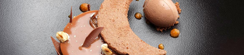 Le palet liégeois noisettes plat dessert assiette la table de frank restaurant steinfort restaurant luxembourg resto tripadvisor restaurant arlon gault millau